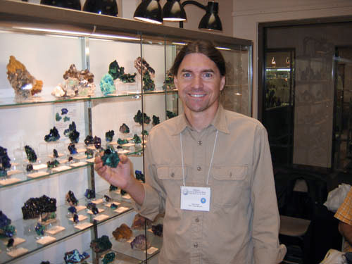 Evan Jones Mineral Collector